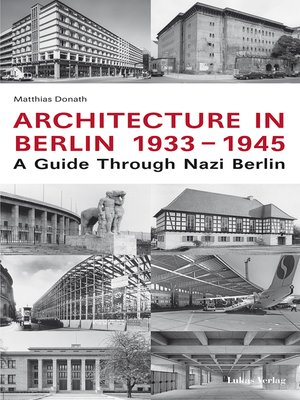 cover image of Architecture in Berlin 1933-1945