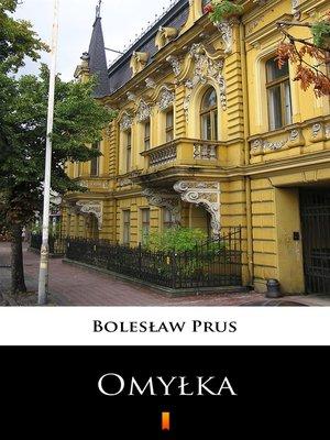 cover image of Omyłka