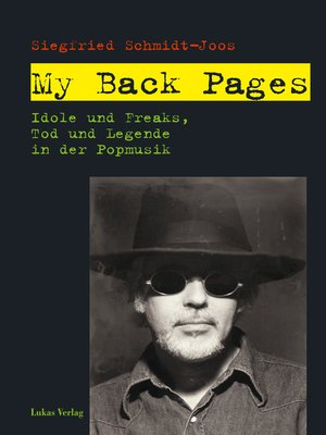 cover image of My Back Pages