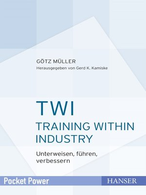 cover image of TWI--Training Within Industry