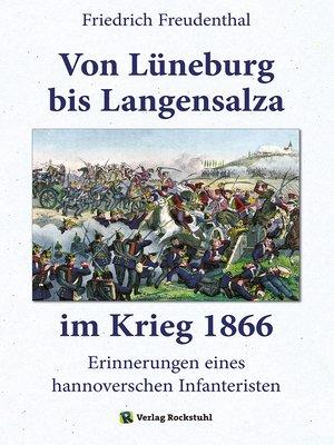 cover image of Von Lüneburg bis Langensalza im Krieg 1866