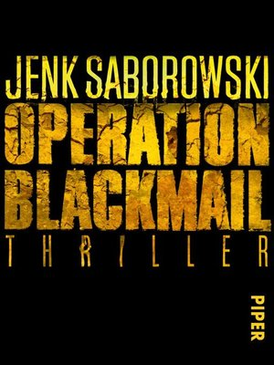 cover image of Operation Blackmail