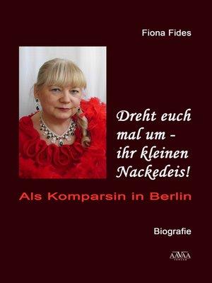 cover image of Dreht euch mal um--ihr kleinen Nackedeis!