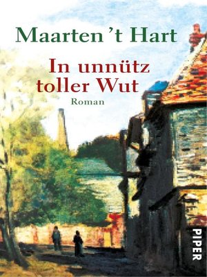 cover image of In unnütz toller Wut