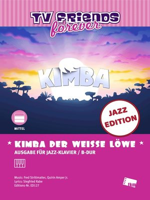 cover image of Kimba, der weiße Löwe