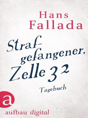 cover image of Strafgefangener, Zelle 32