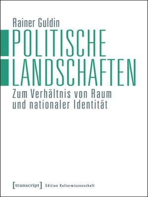 cover image of Politische Landschaften