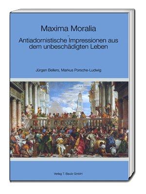 cover image of Maxima Moralia