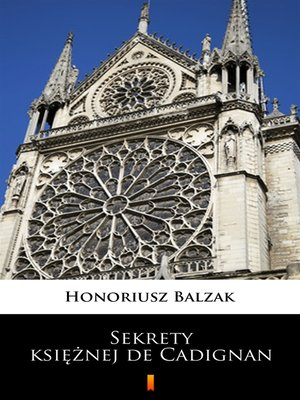 cover image of Sekrety księżnej de Cadignan