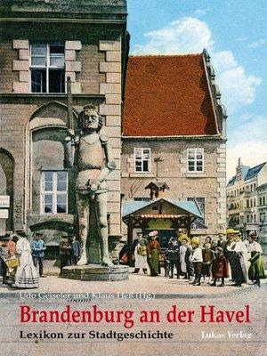 cover image of Brandenburg an der Havel