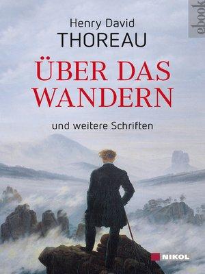 cover image of Über das Wandern