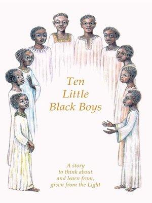cover image of Ten Little Black Boys