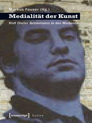 cover image of Medialität der Kunst