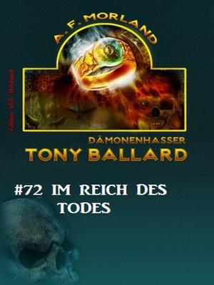 cover image of Tony Ballard #72