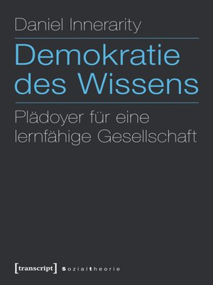 cover image of Demokratie des Wissens