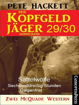 cover image of Der Kopfgeldjäger Folge 29/30  (Zwei McQuade Western)
