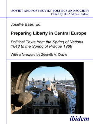 cover image of Preparing Liberty in Central Europe