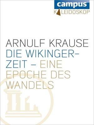 cover image of Die Wikingerzeit – eine Epoche des Wandels