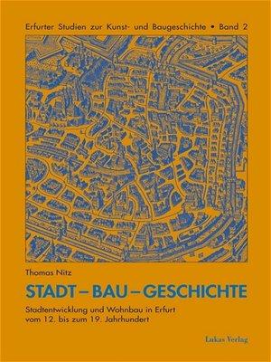 cover image of Stadt-Bau-Geschichte