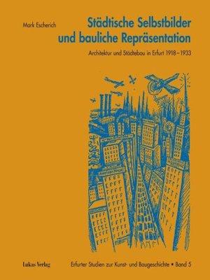 cover image of Städtische Selbstbilder und bauliche Repräsentation
