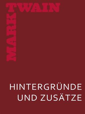 cover image of Meine geheime Autobiographie. Hintergründe und Zusätze