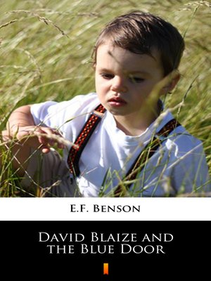 cover image of David Blaize and the Blue Door