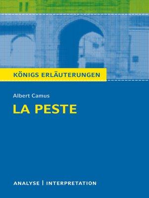 cover image of La Peste--Die Pest. Königs Erläuterungen.