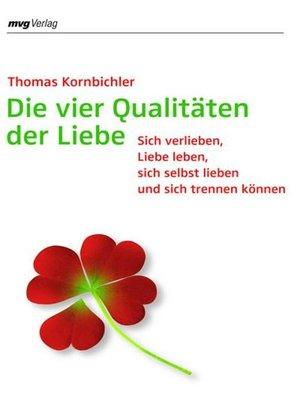 cover image of Die vier Qualitäten der Liebe