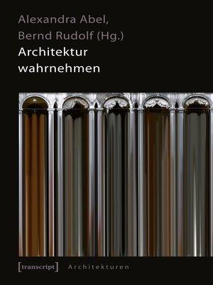 cover image of Architektur wahrnehmen