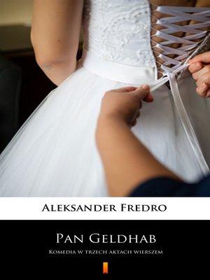 cover image of Pan Geldhab