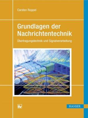 cover image of Grundlagen der Nachrichtentechnik