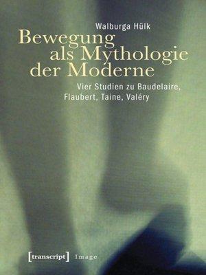 cover image of Bewegung als Mythologie der Moderne