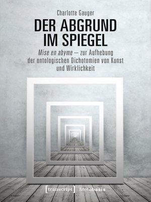 cover image of Der Abgrund im Spiegel