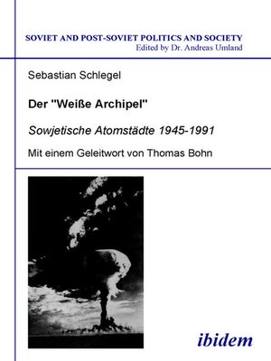 "cover image of Der ""Weisse Archipel"""
