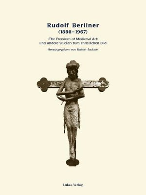 cover image of Rudolf Berliner (1886-1967)