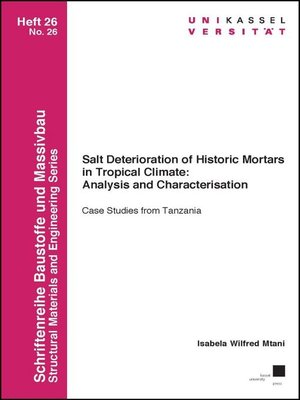cover image of Salt Deterioration of Historic Mortars in Tropical Climate