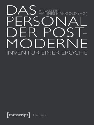 cover image of Das Personal der Postmoderne