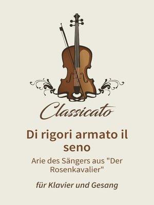 cover image of Di rigori armato il seno