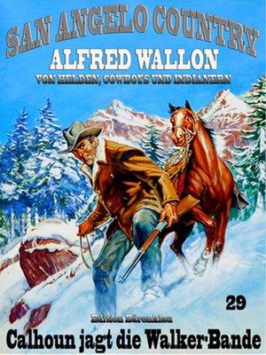 cover image of Calhoun jagt die Walker-Bande