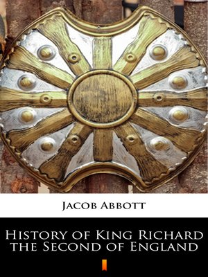 cover image of History of King Richard the Second of England