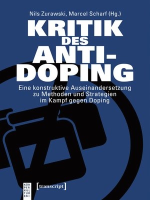 cover image of Kritik des Anti-Doping