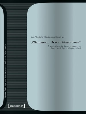 cover image of »Global Art History«