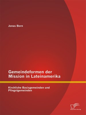 cover image of Gemeindeformen der Mission in Lateinamerika