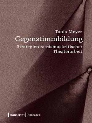 cover image of Gegenstimmbildung