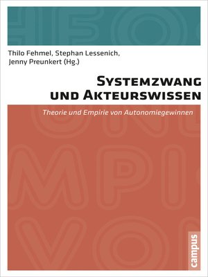 cover image of Systemzwang und Akteurswissen