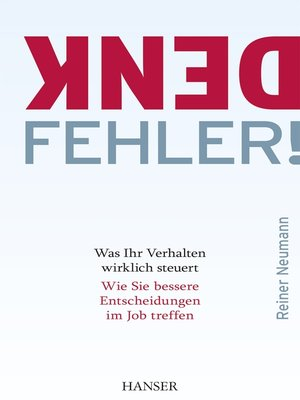 cover image of Denkfehler!