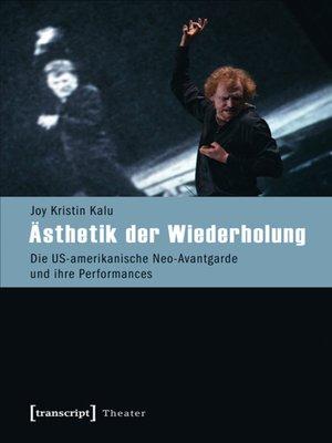 cover image of Ästhetik der Wiederholung