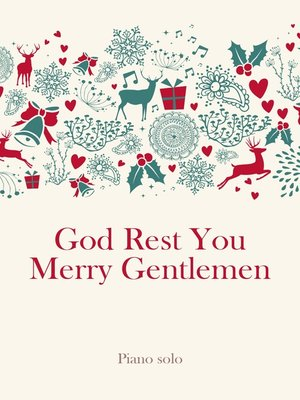 cover image of God Rest You Merry Gentlemen