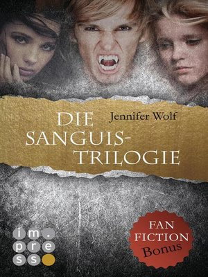cover image of Die Sanguis-Trilogie