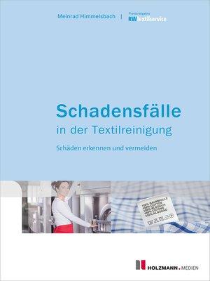 cover image of Schadensfälle in der Textilreinigung